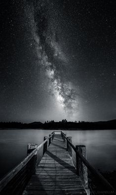 """Serenity In Monochrome by Michael Shainblum on 500px  """"A black and white vertical panorama of Lake Cuyamacain eastern San Diego. The Milky Way was blazing over head."""""""
