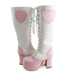 ◢an*tai*na*◣ LOLITA COS高跟时尚洋装公主长靴9841粗跟防水台-淘宝网