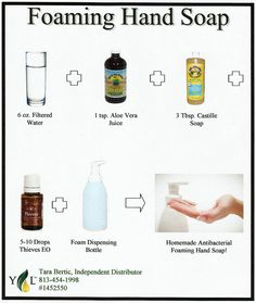 Young Living Essential Oils: Antibacterial Foaming Hand Soap