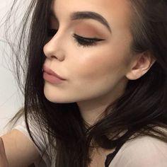 makeup, beauty, and make up resmi Pretty Makeup, Love Makeup, Makeup Inspo, Makeup Inspiration, Beauty Make-up, Beauty Hacks, Hair Beauty, Makeup Goals, Makeup Tips