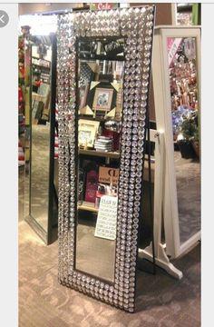 Floor length mirror from Hobby Lobby
