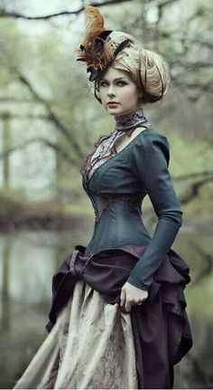 Could be Victorian Steampunk Fashion