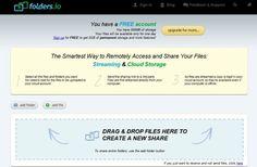Folders.io, comparte tus carpetas o archivos con internet | arturogoga