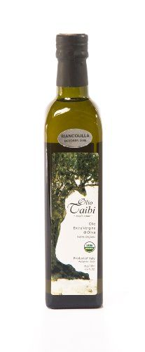 Extra Virgin Olive Oil, 100% Organic Certified, Monocultivar Biancolilla Olio Taibi,http://www.amazon.com/dp/B002IAPXS4/ref=cm_sw_r_pi_dp_oT1ktb1CN1N38B01