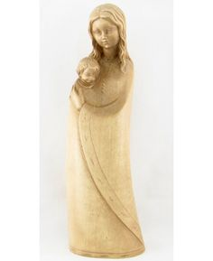 Our Lady of Grace Statuette, maple wood, made in Germany, $89.  #MothersDay #CreatorMundi