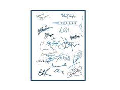 Interstellar Movie Script Autographed Signed: Matthew McConaughey, Anne Hathaway, David Gyasi, Wes Bently, Bill Irwin, Josh Stewart & More
