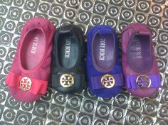 Tory Burch Shoes for Infants... First bday gift from Daddy and Mommy! Oh em geeeee!