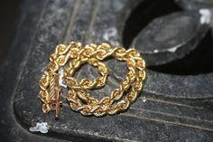 Unisex 14 K Yellow Gold Rope bracelet   1.87 Grams Very #gold14kbracelet