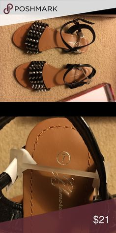 New Spiked Sandals by Glorious Size 7 New Spiked Sandals by Glorious Size 7 glorious Shoes Sandals