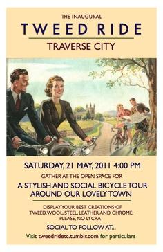 Tweed Ride TC 2011 poster