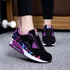 b747970cb7f New 2016 Fashion Flats Women Trainers Breathable Sport Woman Shoes Casual  Outdoor Walking Women Flats Zapatillas Mujer