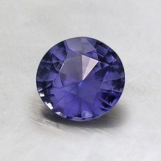 6mm Light Purple Round Sapphire #BrilliantEarth