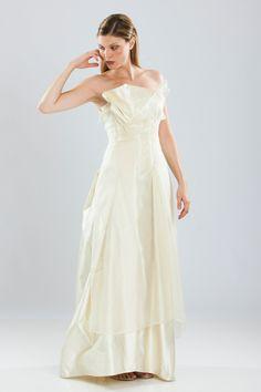 Michel Mayer wedding dress 2013 A-line Silk Wedding Dress 2013, Designer Wedding Dresses, One Shoulder Wedding Dress, Silk Organza, Vintage Bridal, Dream Dress, Bridal Collection, Bridal Gowns, Formal Dresses