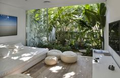garden inside room