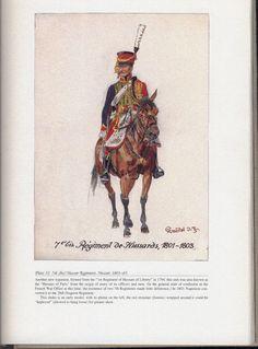 Hussars: Plate 32: 7th (bis) Hussar Regiment, Hussar, 1801-03.