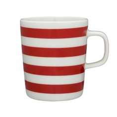 Marimekko Tasaraita Red Mug
