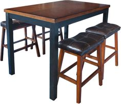 Gathering Table 4 Stools
