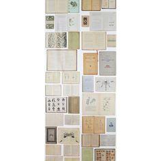 Biblioteca Wallpaper EKA-07 By Ekaterina Panikanova ($215) ❤ liked on Polyvore featuring home, home decor, wallpaper, eka and paper wallpaper