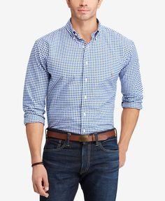 c0ffee426a Men s Big and Tall Classic Fit Long-Sleeve Oxford Shirt