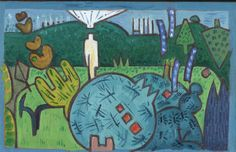Gerald Shepherd: Postcard From The Artist's Wife