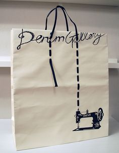 Denim Gallery Shopping Bag