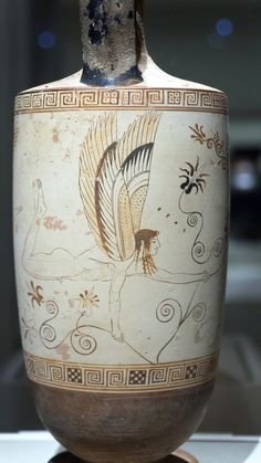 The Atalanta Lekythos, 3 Classical Greece, Classical Antiquity, Ancient Egyptian Art, Ancient Greece, Ancient Aliens, Greek Sea, Greek Pottery, Art Antique, Cleveland Museum Of Art