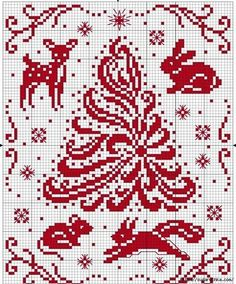 Could just stitch the tree Xmas Cross Stitch, Cross Stitch Charts, Cross Stitch Designs, Cross Stitching, Cross Stitch Embroidery, Embroidery Patterns, Cross Stitch Patterns, Pixel Art Noel, Cross Stitch Freebies