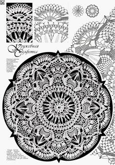 Crochet Doilies Free Pattern Tablecloths Beautiful 48 Ideas For 2019 Crochet Tablecloth Pattern, Crochet Doily Diagram, Crochet Rug Patterns, Crochet Mandala Pattern, Crochet Chart, Filet Crochet, Irish Crochet, Crochet Round, Crochet Home