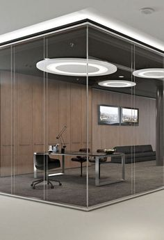 Office Design Corporate Business is utterly important for your home. Whether you choose the Corporate Office Interior Design or Business Office Decorating Ideas, you will create the best Office Interior Design Ideas Billy Bookcases for your own life. Corporate Office Design, Modern Office Design, Corporate Interiors, Office Interior Design, Office Interiors, Office Designs, Corporate Business, Glass Partition Wall, Glass Office