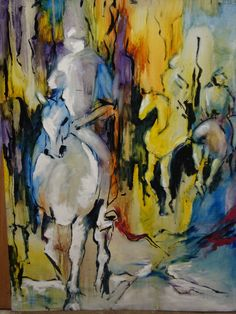 Horses -  Eira Sands - SOLD