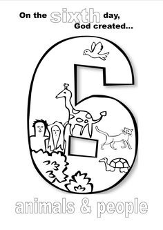 creation alphabet coloring pages - photo#9