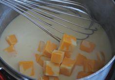 How to make easy homemade cheese sauce #fallcooking #cheese