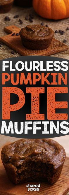 Flourless Pumpkin Pie Muffins is the answer to your flourless household! Take out all the filler out and leave all the flavor in! Without flour you ensure yourself having the most tender muffins, that kinda feels like dessert!