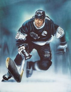COMMEMORATIVE ARTWORK Wayne Gretzky