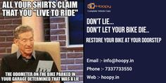 #DON'T #LIE… #DON'T #LET #YOUR #BIKE #DIE.. #RESTORE #YOUR #BIKE #AT #YOUR #DOORSTEP Find More :- http://www.hoopy.in/ Call at :- 7337733550