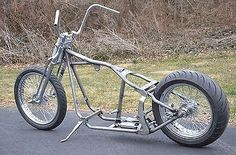 Kraft Tech Softail Bobber Chopper Frame Rolling Chassis Roller Harley Bike Kit - Motocycle Pictures and Wallpapers Chopper Motorcycle, Bobber Chopper, Motorcycle Style, Scrambler Motorcycle, Motorcycle Garage, Triumph Chopper, Mini Chopper, Motorcycle Camping, Camping Gear