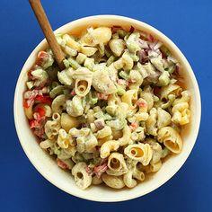 Vegan Macaroni Salad | Minimalist Baker Recipes