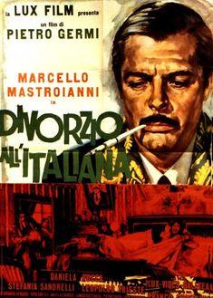 Divorzio all'Italiana-Divorce italian style by Pietro Germi, 1961 With Marcello Mastroianni and Stefania Sandrelli.