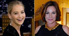 """Jennifer Lawrence Was 'Horrified' and 'Shocked' by RHONY Star Luann de Lesseps' Divorce: 'My Stomach Dropped!'  Jennifer Lawrence, a self-proclaimed Bravo and Housewives superfan, was not expecting Luann de Lesseps to divorce fromex Tom D'Agostino. During her appearance on Tuesday's Tonight Show, the actress, 27, recalled how """"shocked"""" she was after hearing about the Real Housewives of New York Citystar's separation following seven-months of marriage. """"When Luann announced her divo.."""