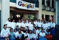 First Google Team, 1999