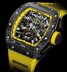 The Eye-Catching RM011 Yellow Storm by Richard Mille $170,000