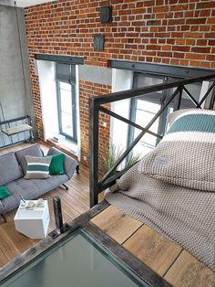 Sprytnie urządzone 35-metrowe mieszkanie Mateusza. Dominuje styl industrialny - Dom