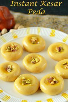 Milk Recipes, Sweets Recipes, Baking Recipes, Free Recipes, Indian Dessert Recipes, Indian Sweets, Milk Powder Recipe, Peda Recipe, Vegan Junk Food