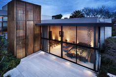 """""""Casa de la Luz"""" (House of Light) a private residence in México, D. F. (Mexico City, Distrito Federal) by C·Cubica Arquitectos."""