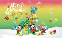 mickey mouse christmas wallpaper hd