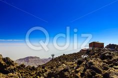 Qdiz Stock Photos Cableway or Funicular on Tenerife Island
