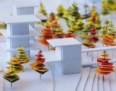 """다음 @Behance 프로젝트 확인: """"A concept model of office center """" https://www.behance.net/gallery/24271295/A-concept-model-of-office-center-"""