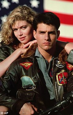 Tom Cruise made his name in iconic 80s movie Top Gun