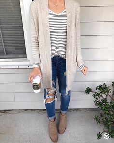 Striped black and white shirt is a staple I need - Fall Shirts - Ideas of Fall Shirts Fall Shirts for sales. - Striped black and white shirt is a staple I need Fall Winter Outfits, Autumn Winter Fashion, Fall Fashion, Early Spring Outfits, Summer Outfits, Casual Outfits, Cute Outfits, Fashion Outfits, Outfits With Striped Shirts