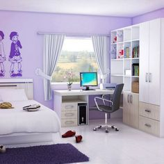 Insanely cute teen girls rooms that make sure inspire you to increase room beauty. Most cozy teen girls room furniture to liven up room for a good daily mood. They can express themselves. #teengirlroom #teenroom #girlroom
